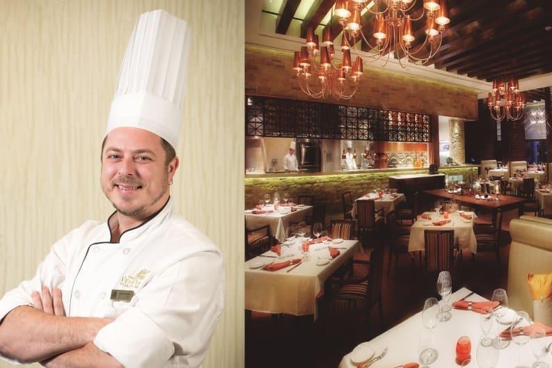 Domenico Cicchetti任威尼斯人碧濤意國漁鄉主廚