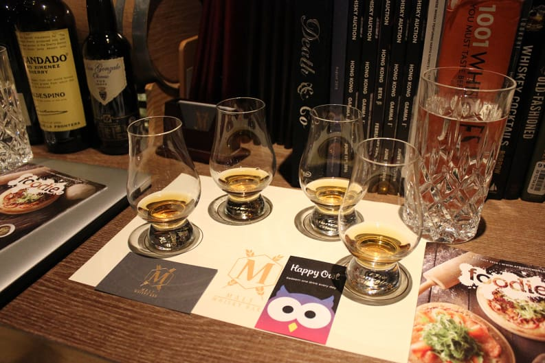 Whisky Tastings with Happy Owl