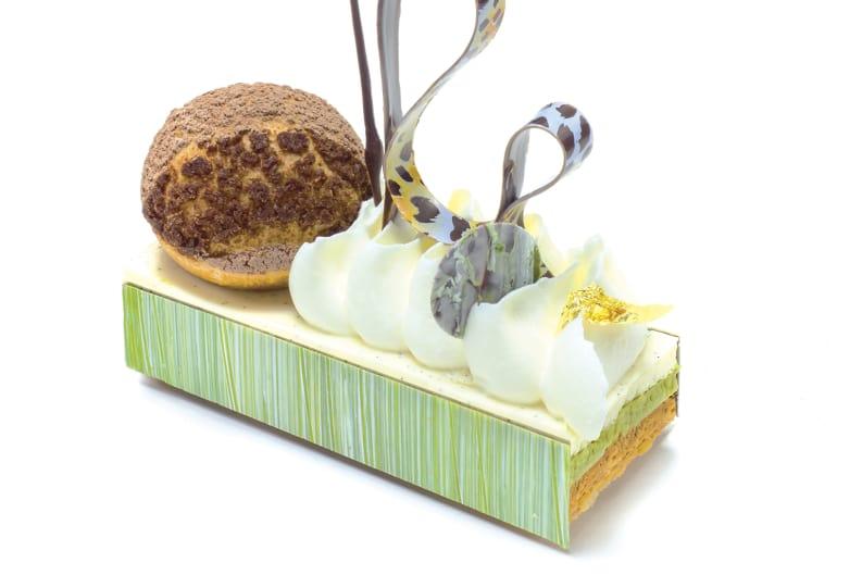 European Cream Beyond Compare: Dark Chocolate Matcha