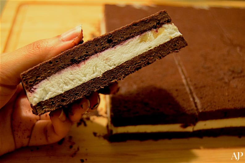 Recipe: Black Forest Ice Cream Sandwiches