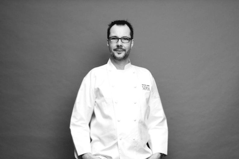 Four Hands Dinner at Amber with Chef Martin Benn of Sydney's Sepia