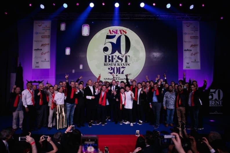 The Announcement: Asia's 50 Best Restaurants 2017