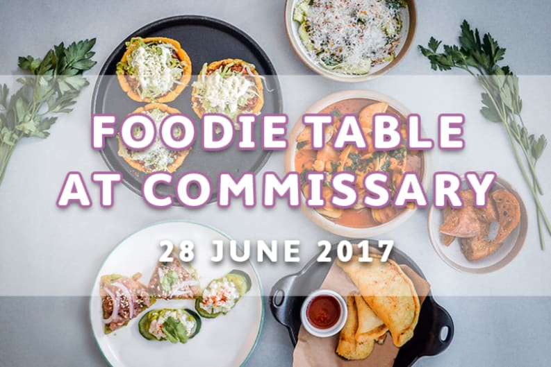 Foodie Table at Commissary