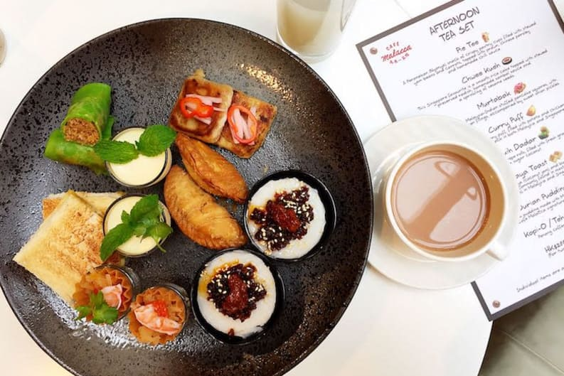 New Afternoon Tea: Southeast Asian Teatime Treat at Café Malacca