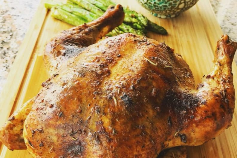 Recipe Video: Balsamic and Mixed Herbs Roasted Chicken