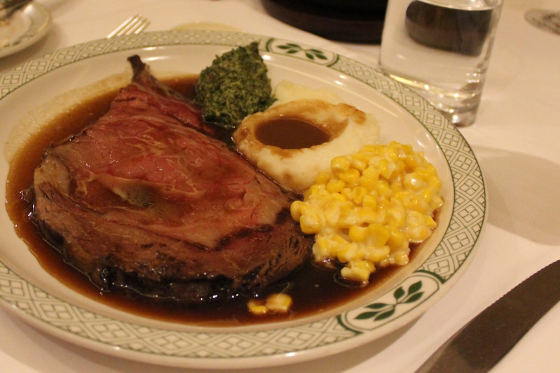Foodie Table at Lawry's The Prime Rib