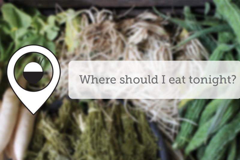 Where Should I Eat Tonight - May XIV