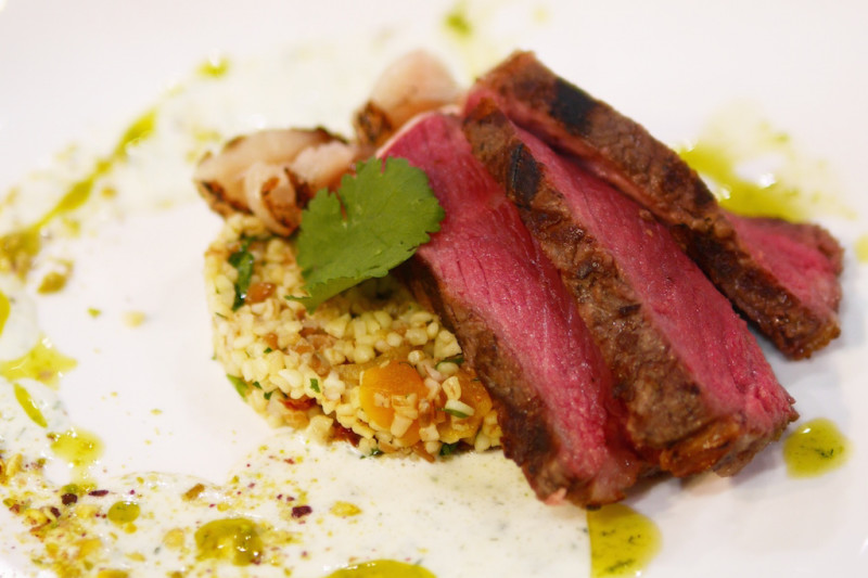 Grass-Fed English Beef Featured by M Cuisine
