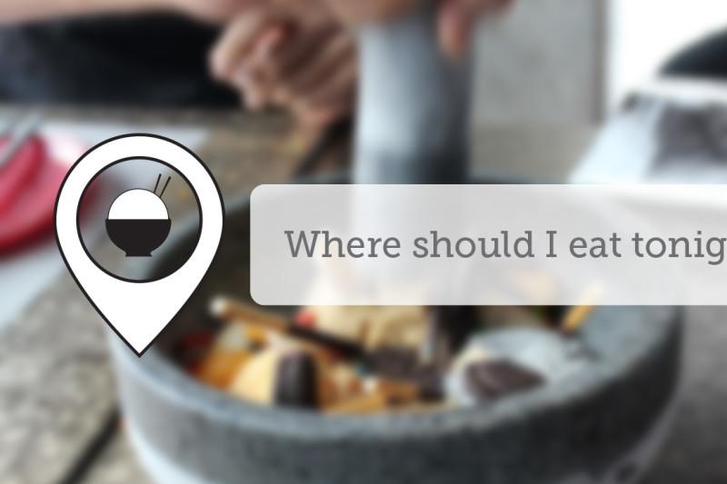 Where Should I Eat Tonight - June XI