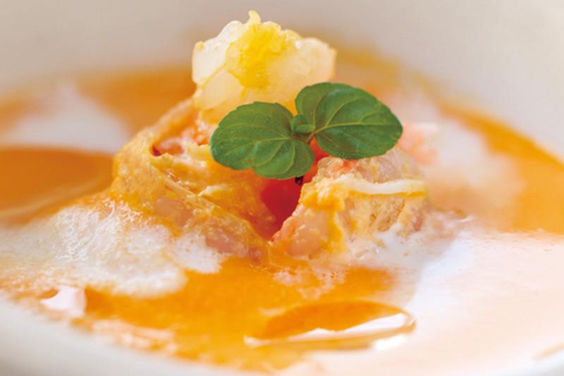 Pumpkin Bisque with Crabmeat Recipe