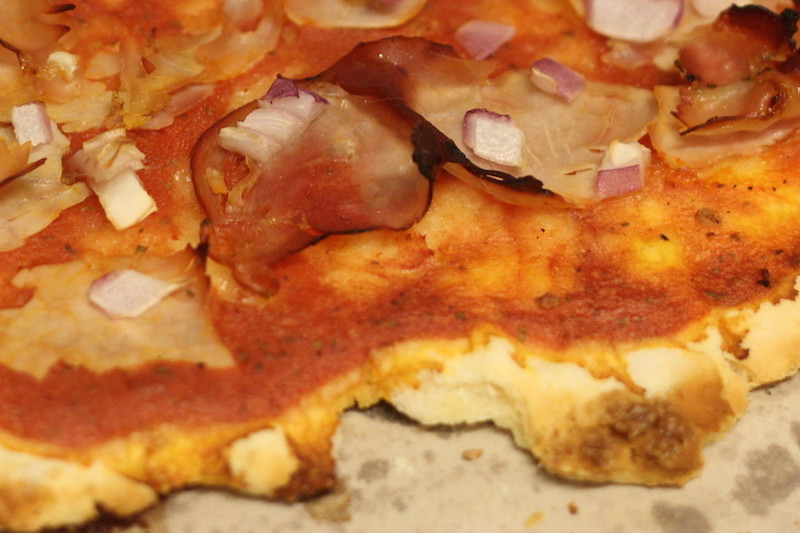 Healthy Lactose and Gluten-Free Pizza