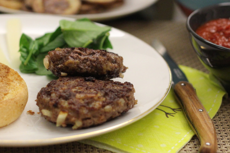"""Gluten and Dairy-Free Burgers with Homemade Tomato """"Ketchup"""""""