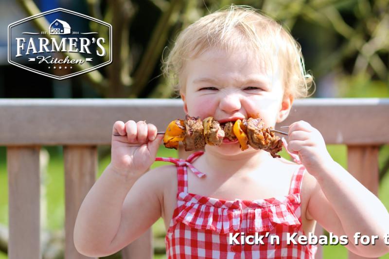 Kick'n Kebabs for the Kids