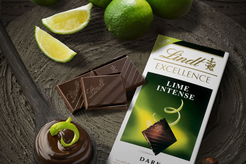 LINDT Chocolate Launches New Flavour in Hong Kong: Lime Intense