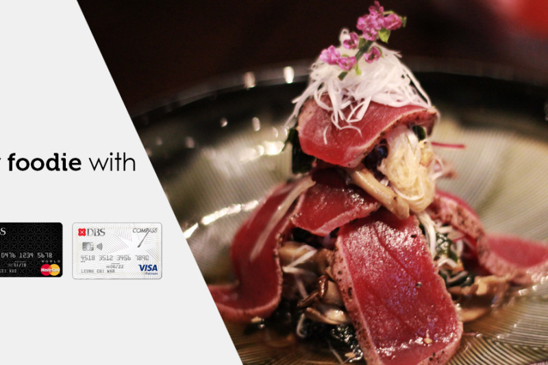 Find your inner foodie with DBS Credit Card