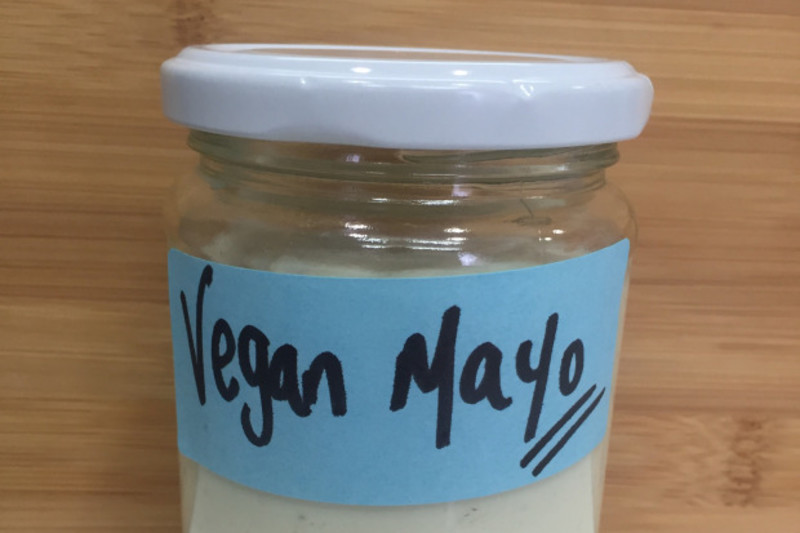 How to Make Vegan Mayo