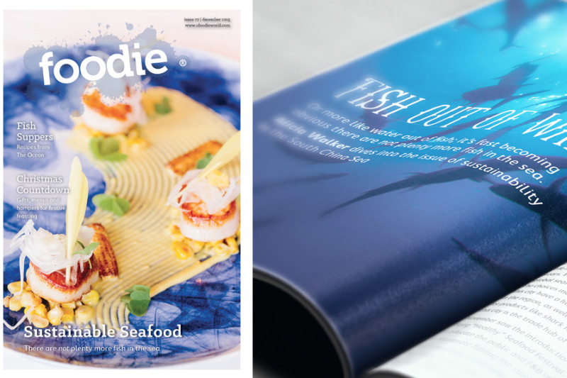 December 2015 Issue of Foodie Out NOW