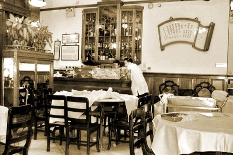 Remains of Hong Kong's 1930s Nostalgia at Luk Yu Tea House