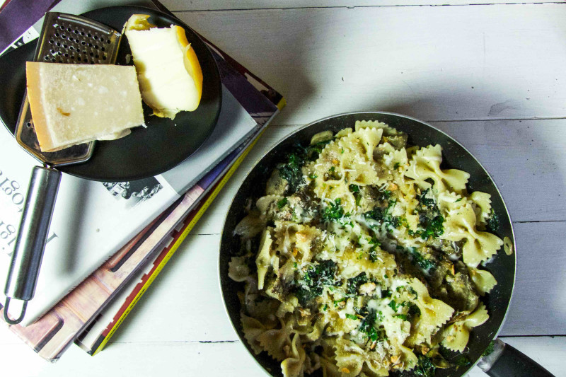 Artichoke, Spinach & Cheese Pasta Recipe