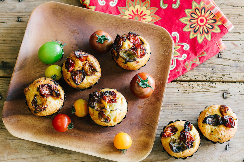 Confit Tomatoes and Thyme Roux Brioche Recipe [Magazine Feature]
