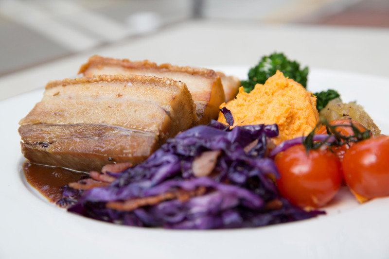 Drool-Worthy Crackling Pork Belly for $100