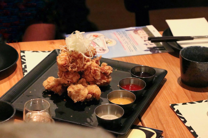 Soju x Fried Chicken Event at MOYO