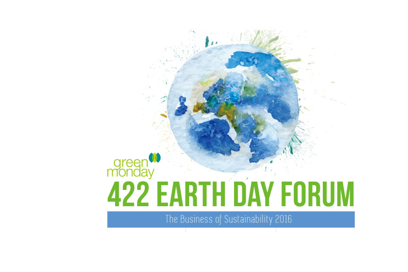 Green Monday Presents Earth Day Forum 2016: The Business of Sustainability