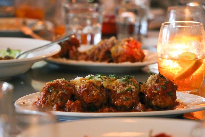 Battle of The (Meat) Balls at Linguini Fini