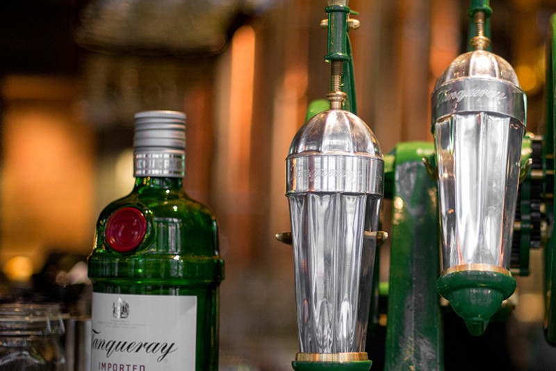The Tanqueray Champion Shaker at Mr & Mrs Fox