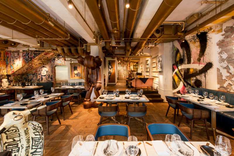 5 Restaurants Where Food and Art Meld Seamlessly Together