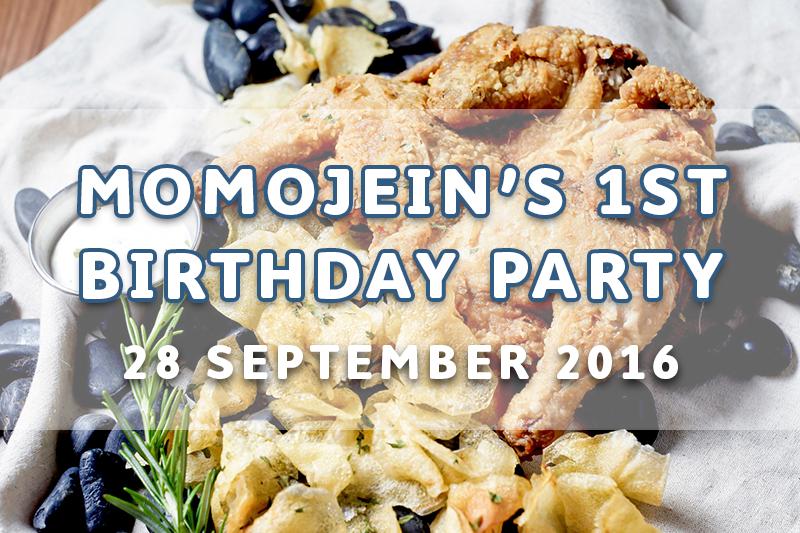 EVENT: MOMOJEIN'S FIRST BIRTHDAY PARTY