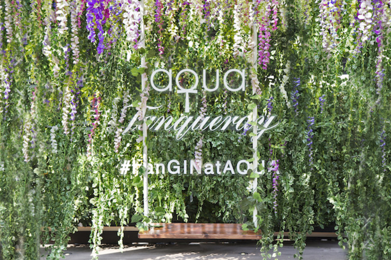 Hong Kong's First Japanese Hanging Gardens Pop-Up at aqua and Armani/Privé