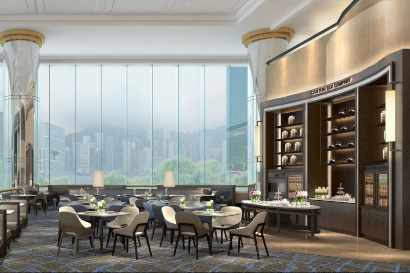 JW Marriott Hotel's The Lounge Unveils Fresh Look and New Lunch Buffet Offerings