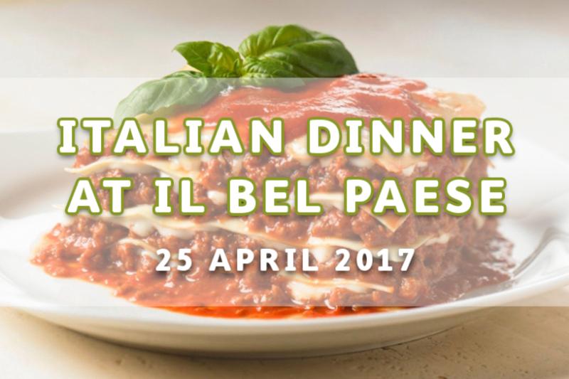 Traditional Italian Dinner at ilBelPaese