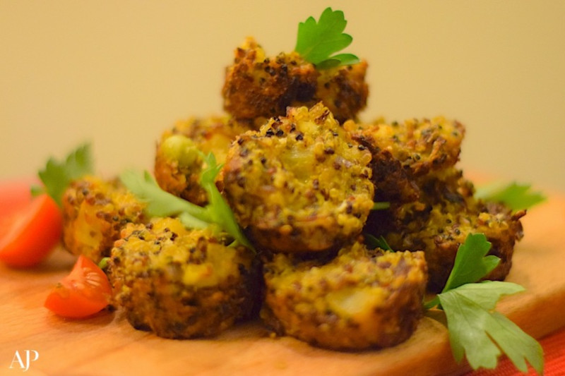 Recipe: Savoury Quinoa Mini Muffins