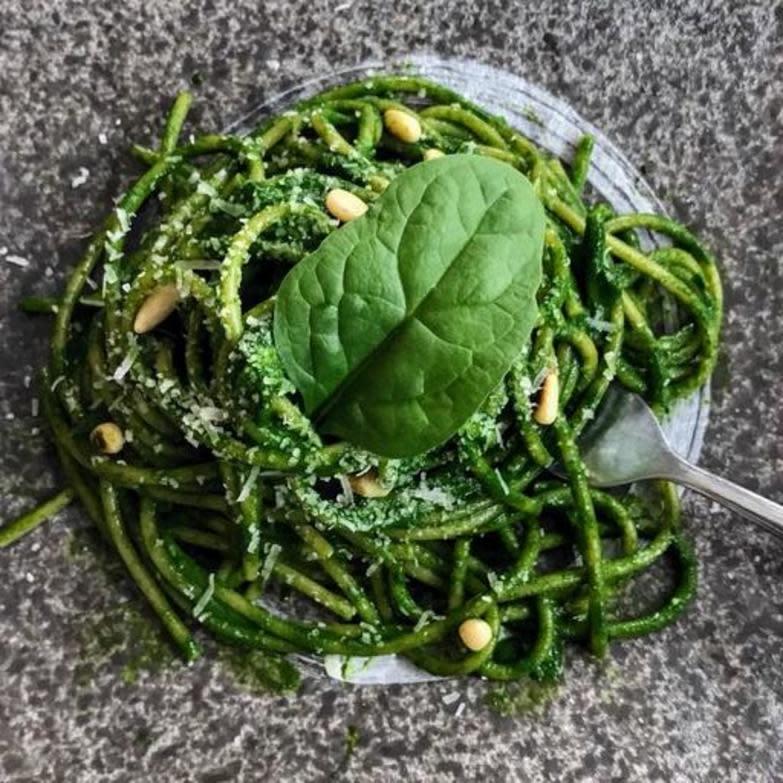 Spinach Spaghetti