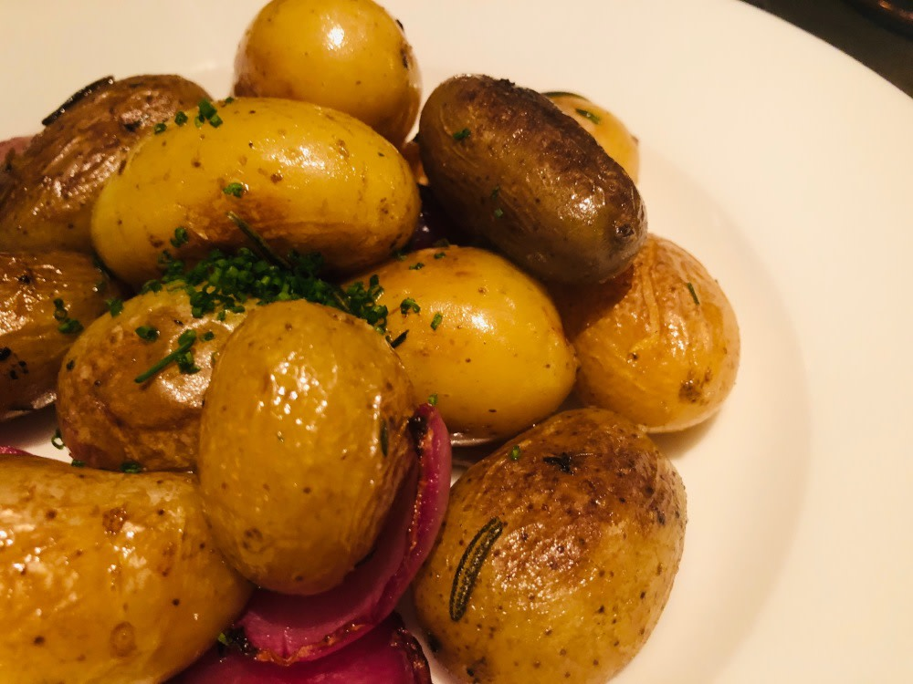 Baby new potatoes Statement Restaurant Hong Kong Tai Kwun