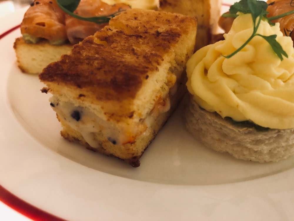 Lobster and truffle croque-monsieur