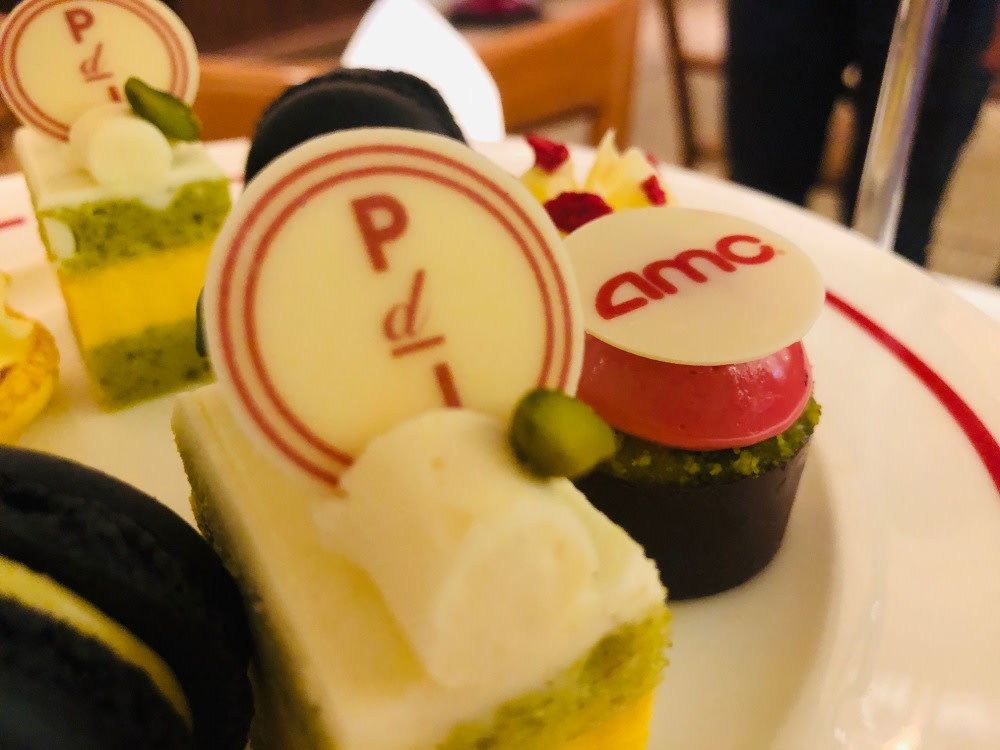 Plat du Jour/AMC afternoon tea set