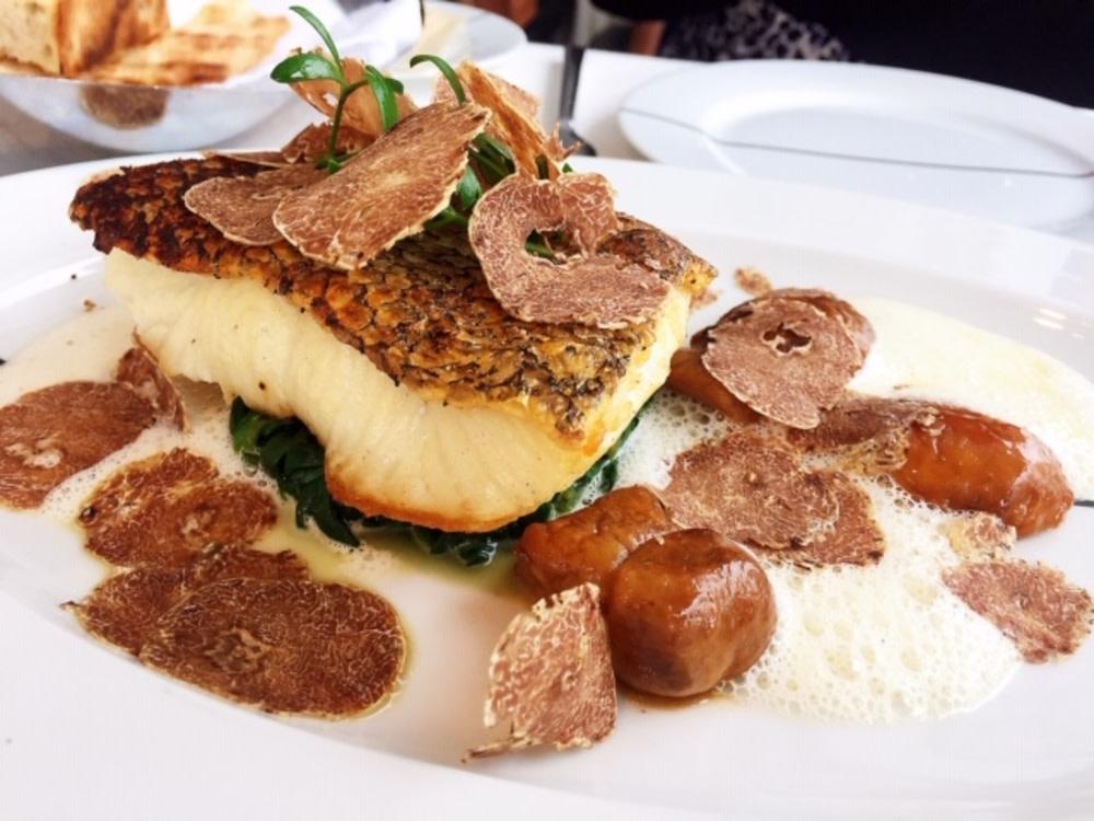 White truffle menu at Paper Moon