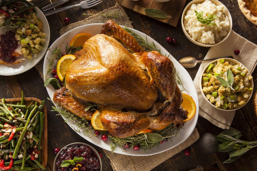 Thanksgiving at Porterhouse