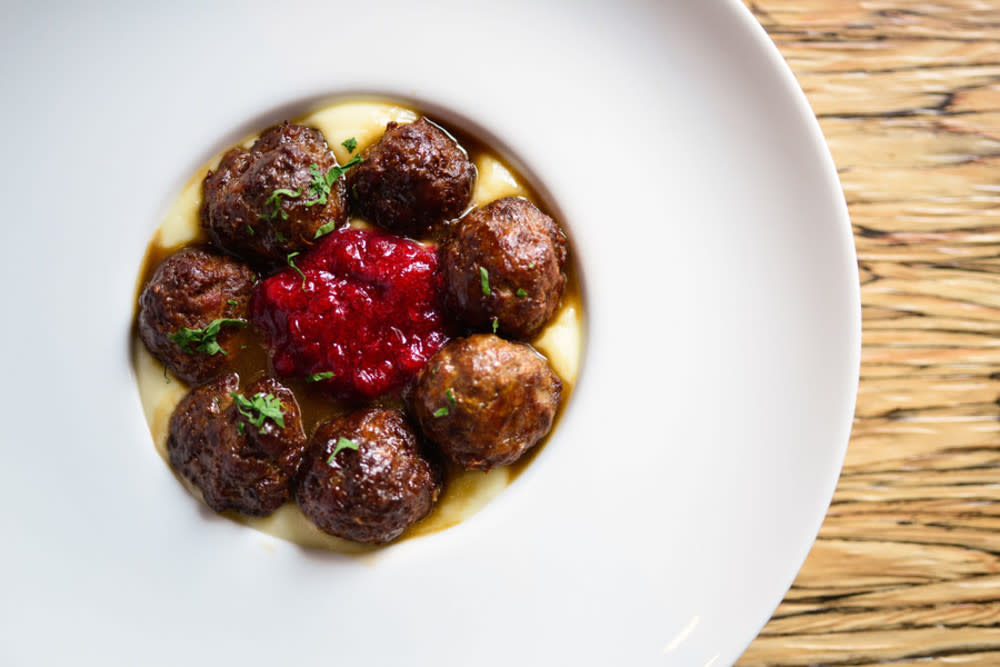Grandmother Ida's meatballs at FINDS
