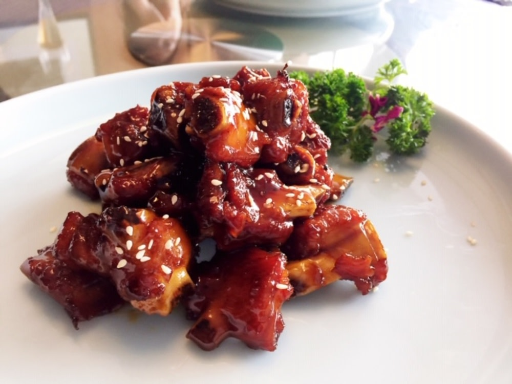 Sweet-and-sour spare ribs