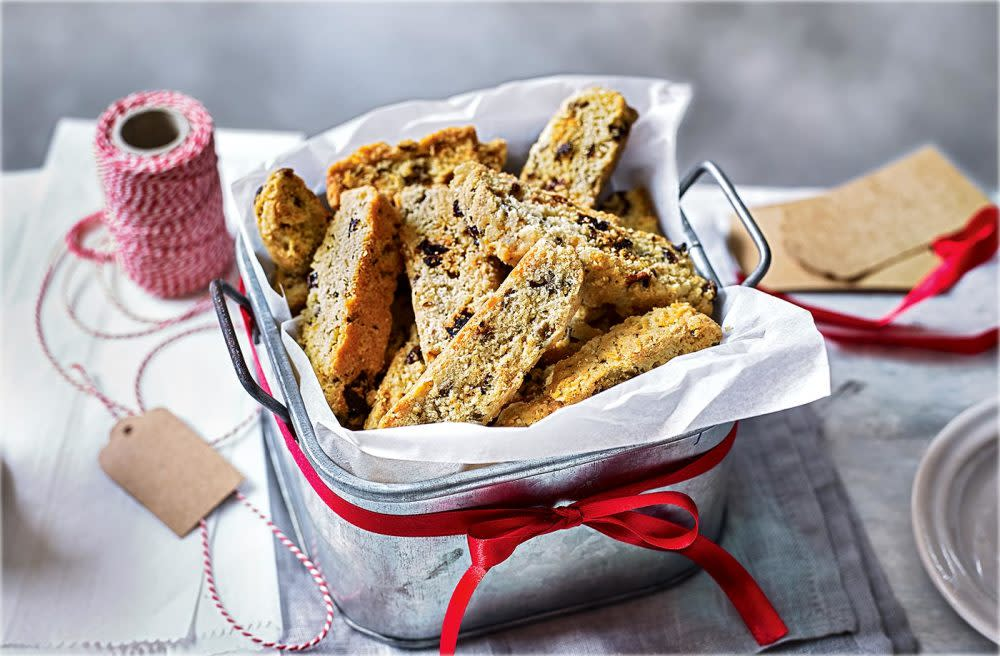 Bublé and biscotti recipe