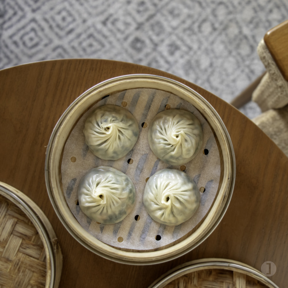 Vegetarian xiao long bao from Old Bailey
