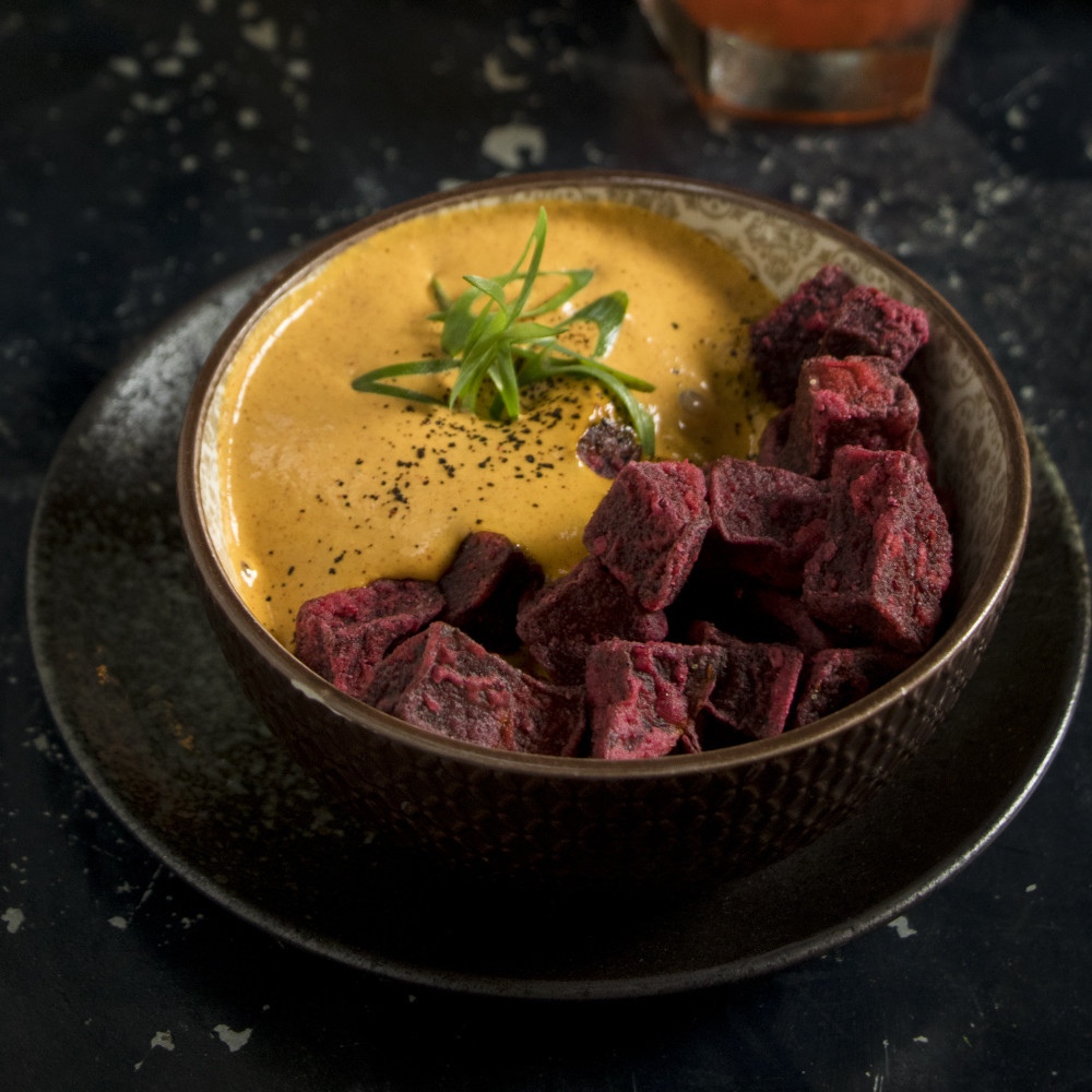 Home beet fries from Brickhouse