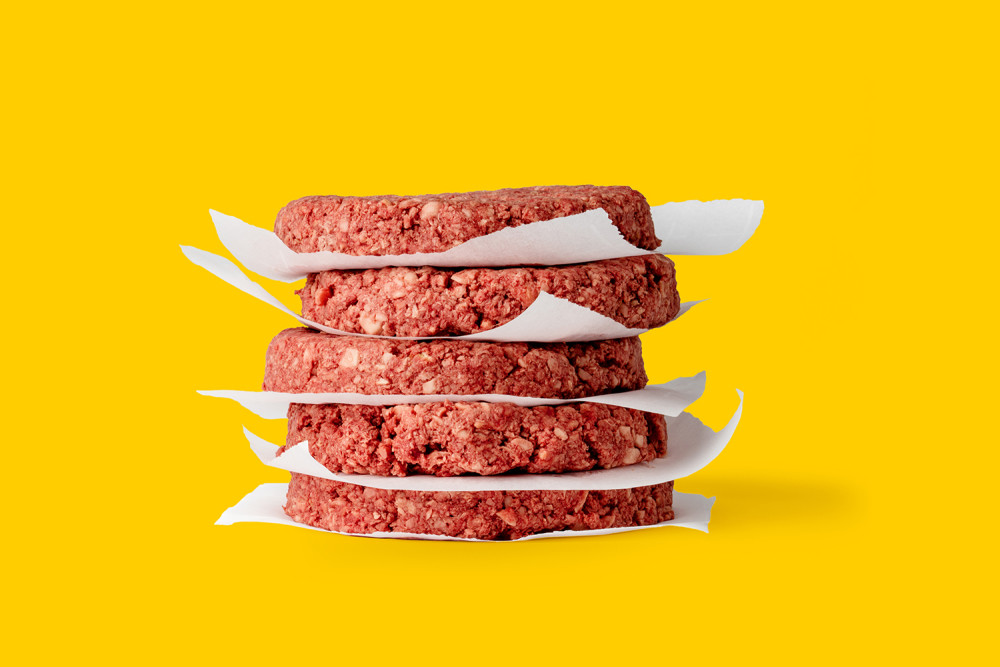 Impossible Foods' meat patties