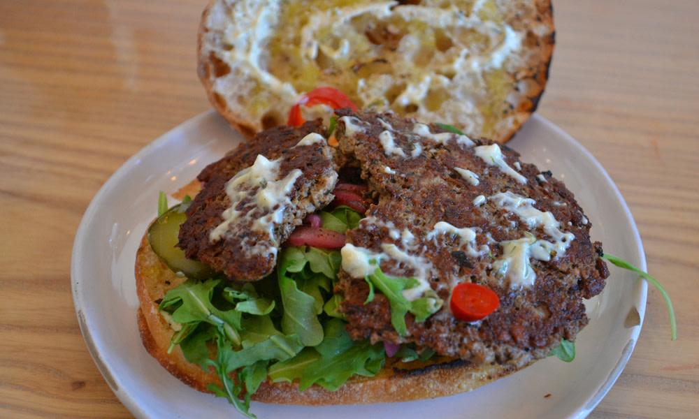 Impossible doner kebab at Wursthall