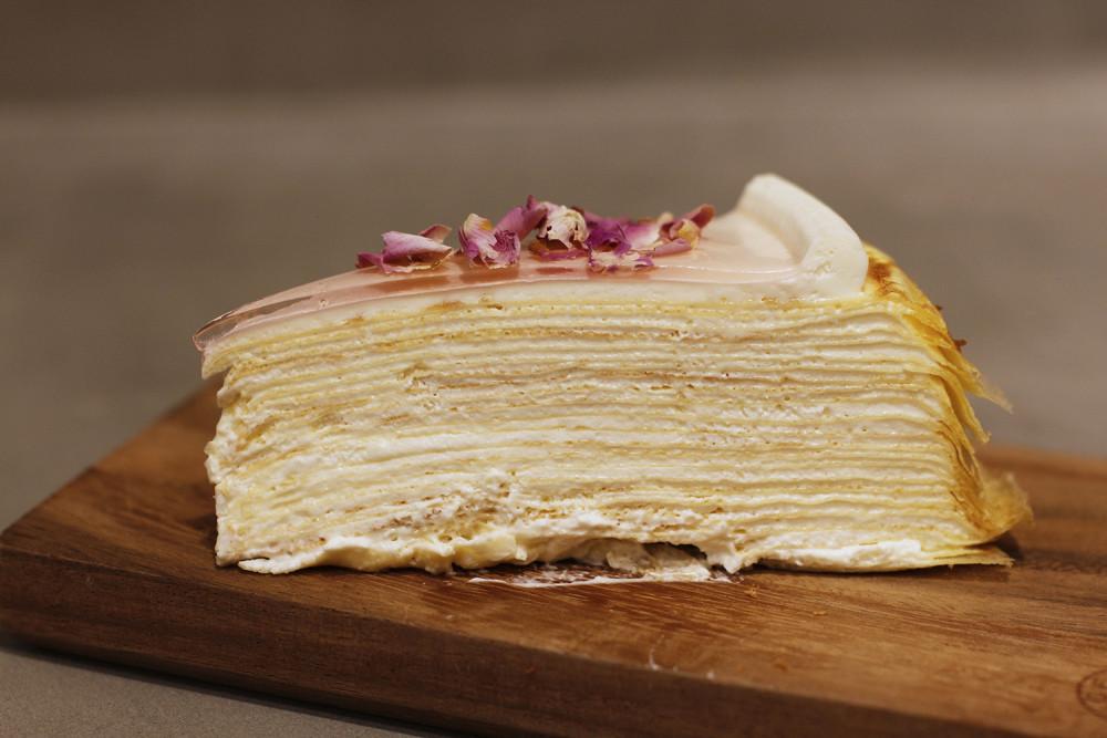 Lady M crêpe cake