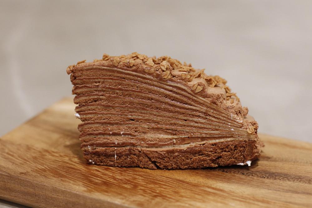 McCafé crêpe cake